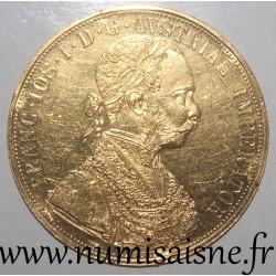 AUSTRIA - KM 2276 - 4 DUCATS 1915 - Franz Joseph I - Restrike