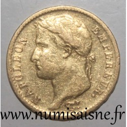 FRANCE - KM 695 - 20 FRANCS 1812 A - Paris - GOLD - NAPOLEON 1st