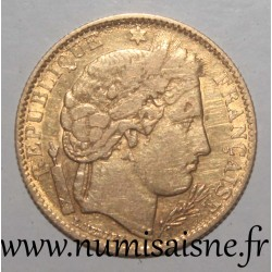 FRANCE - KM 830 - 10 FRANCS 1850 A - Paris - TYPE CÉRÈS - GOLD