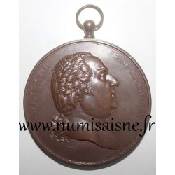 MEDAL - LOUIS XVIII - May 3, 1814 - By Gallé