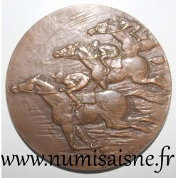 MEDAL - SPORT - HORSE'S RACING COMPANIES OF PARIS - PMU - 1954 - 1969