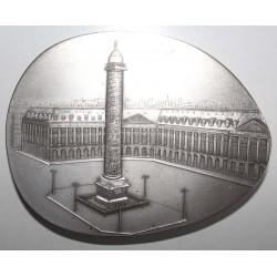 MEDAL - INSURANCE UNION OF PARIS - 1989