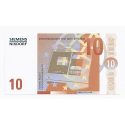 SIEMENS NIXDORF - 10 EUROS - SPECIMEN - NEUF
