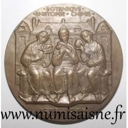MEDAL - LOUIS XIII - BOTANICAL - ANATOMY - CHEMISTRY - 1635 - 1935