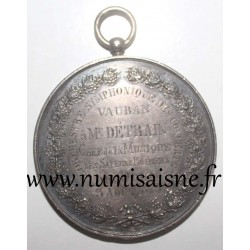 MEDAILLE - County 59 - DOUAI - CHIEF OF MUSIC FOR FIRE FIGHTERS - 1878