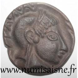 MEDAILLE - ATHENA - GREEK GODDESS OF WAR - REPRODUCTION