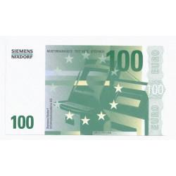 SIEMENS NIXDORF - 100 EUROS - SPECIMEN - NEUF