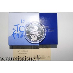 FRANCE - KM 1321 - 1 EURO 1/2 2003 - 100 YEARS OF THE TOUR DE FRANCE