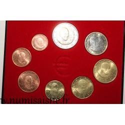 VATICAN - EURO SET 8 COINS 2013
