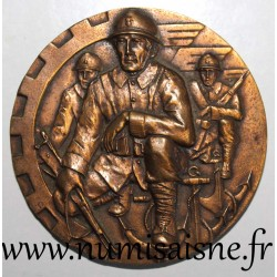 MEDAL - NATIONAL UNION OF FIGHTERS - 1939 - 1940