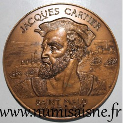 MEDAL - County 35 - SAINT MALO - JACQUES CARTIER - APRIL 20, 1534 - 1984