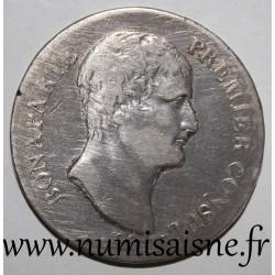FRANCE - KM 650 - 5 FRANCS 1802 - YEAR XI A - Paris - BONAPARTE FIRST CONSUL