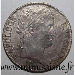 FRANCE - KM 694 - 5 FRANCS 1813 Q - Perpignan - TYPE NAPOLEON EMPEROR