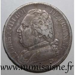 FRANCE - KM 702 - 5 FRANCS 1814 L - Bayonne - TYPE LOUIS XVIII