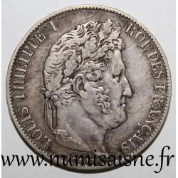 FRANCE - KM 749 - 5 FRANCS 1847 A - Paris - LOUIS PHILIPPE 1st