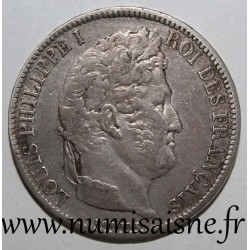 FRANCE - KM 745 - 5 FRANCS 1831 A - Paris - TYPE LOUIS PHILIPPE I - Edge in relief
