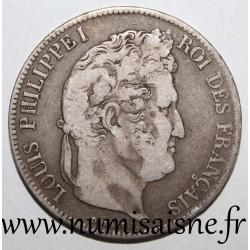 FRANCE - KM 749 - 5 FRANCS 1837 B - Rouen - LOUIS PHILIPPE Ist