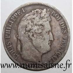 FRANCE - KM 749 - 5 FRANCS 1835 W - Lille - LOUIS PHILIPPE Ist