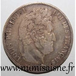 FRANCE - KM 749 - 5 FRANCS 1837 W - Lille - LOUIS PHILIPPE 1st