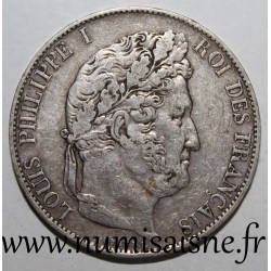 FRANCE - KM 749 - 5 FRANCS 1845 W - Lille - LOUIS PHILIPPE 1st