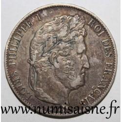 FRANCE - KM 749 - 5 FRANCS 1846 A - Paris - LOUIS PHILIPPE 1st