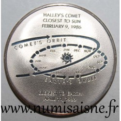 MEDAL - ASTRONOMY - COMET OF HALLEY