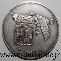 MEDAL - UNESCO - TEMPLE OF ISIS - PHILAE - 1975