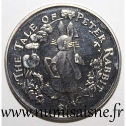 BRITISH VIRGIN ISLAND - KM 267 - 1 DOLLAR 2004 - THE TALE OF PETER RABBIT