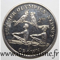 GIBRALTAR - KM 791 - 1 CROWN 1999 - OLYMPIC GAMES - SYDNEY - ROWING
