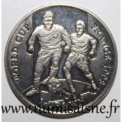 GIBRALTAR - KM 690 - 1 CROWN 1998 - FOOTBALL WORLD CUP - FRANCE