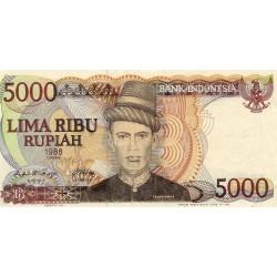 INDONESIA - PICK 125 - 5000 RUPIAH - 1986