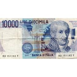 ITALY - PICK 112 b - 10.000 LIRE - 03/09/1984