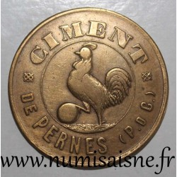 FRANCE - County 62 - PERNES - 10 CENTS - CAISSE DE SECOURS