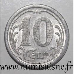 FRANCE - County 62 - FREVENT - 10 CENT 1922 - UNION COMMERCIALE INDUSTRIELLE