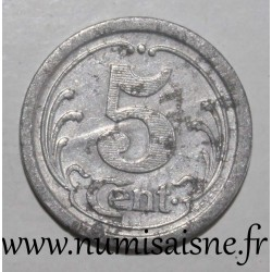 FRANCE - County 62 - FREVENT - 5 CENT 1922 - UNION COMMERCIALE INDUSTRIELLE