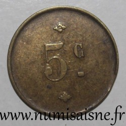 FRANCE - ANONYMOUS - 5 CENT
