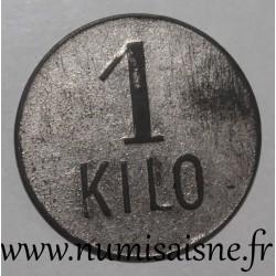FRANCE - County 62 - BILLY MONTIGNY - 1 KILO - BUREAU DE BIENFAISANCE