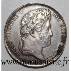 ATTENDANCE TOKEN - AGRICULTURE, ARTS & A DES LANDES SOCIETY - LOUIS PHILIPPE I