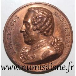 MEDAL - ART - JEAN FRANCOIS MARMONTEL - 1820 - HISTORIAN, STORYTELLER AND NOVELIST