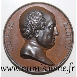 MEDAL - CHARLES BONNET - 1823 - SWISS NATURALIST AND PHILOSOPHER
