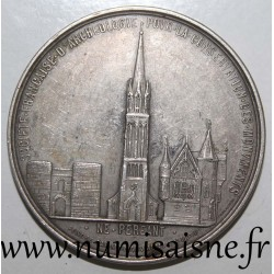MEDAL - FRENCH SOCIETY OF ARCHEOLOGY FOR THE CONSERVATION OF MONUMENTS - 1908