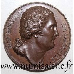 MEDAL - HORACE BENEDICT DE SAUSSURE - SWISS NATURALIST AND PHYSICIST - 1823