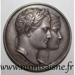 MEDAL - BIRTH OF NAPOLEON II - MARCH 20, 1811 - KING OF ROME - By Andrieu F.