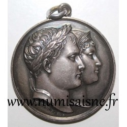MEDAL - WEDDING OF NAPOLEON I AND MARY LOUISE OF AUSTRIA - APRIL 1, 1810 - By Andrieu F.