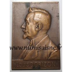 MEDAL - LOUIS DORIZON - DIRECTOR OF BANK SOCIÉTÉ GÉNÉRALE - MAY 15, 1910