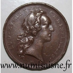 MEDAL - LOUIS XV - 1743 - OPTIMO PRINCIPI