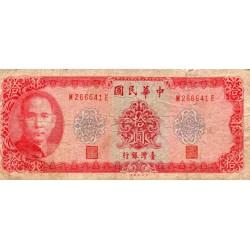 CHINE - PICK 1979 a - 10 YUAN 1969
