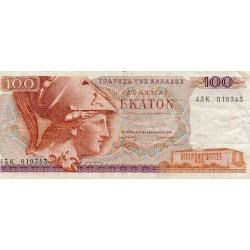 GREECE - PICK 200 b - 100 DRACHMAI - 08/12/1978