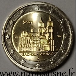 GERMANY - 2 EURO 2021 - MAGDEBOURG CATHEDRAL
