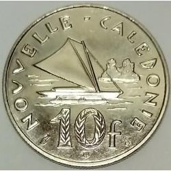 NEW CALEDONIA - KM 11 - 10 FRANCS 1996 - BOAT